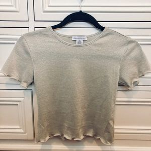 Urban Outfitters Metallic Top